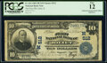 Error Notes:National Bank Note Errors, Double Stamped Officers Signatures Joliet, IL - $1...