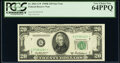 Small Size:Federal Reserve Notes, Fr. 2061-G* $20 1950B Federal Reserve Star Note. PCGS Very...