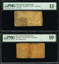 Colonial Notes:New Jersey, New Jersey December 31, 1763 12s PMG Choice Fine 15;
