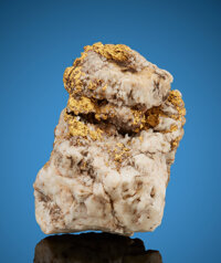 Gold in Quartz Virtue Mine (Collateral; Chicago; Rucker; Union) Virtue Flat, Virtue Mining District, Baker Co