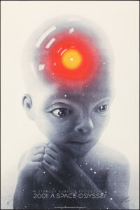 2001: A Space Odyssey, AP 20/40 by Greg Ruth (Mondo, 2018). Near Mint/Mint. Hand Signed and Numbered Artists Proof of a...