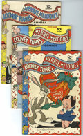 Golden Age (1938-1955):Cartoon Character, Looney Tunes and Merrie Melodies Comics Group (Dell, 1943-44)Condition: Average VG.... (Total: 5 Comic Books)
