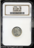 Bust Dimes: , 1836 10C AU58 NGC. JR-2, R.2. The date shows a fancy 8 ...