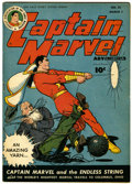 Golden Age (1938-1955):Science Fiction, Captain Marvel Adventures #55 (Fawcett, 1946) Condition: FN+....