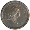 Patterns, 1869 10C Standard Silver Ten Cents, Judd-697, Pollock-776, High R.6, PR64 PCGS. PCGS Population: (5/5 and 0/0+). NGC Census...