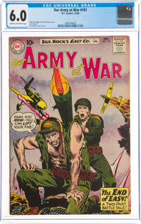 Our Army at War #101 (DC, 1960) CGC FN 6.0 Cream to off-white pages