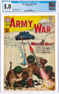 Our Army at War #106 (DC, 1961) CGC VG/FN 5.0 Off-white pages