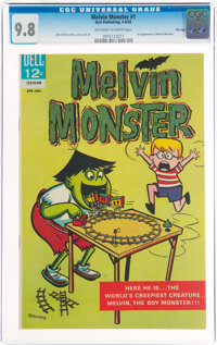 Melvin Monster #1 File Copy (Dell, 1965) CGC NM/MT 9.8 Off-white to white pages