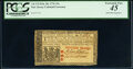 Colonial Notes:New Jersey, John Hart Signed New Jersey February 20, 1776 15s PCGS Ext...