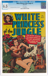 White Princess of the Jungle #3 (Avon, 1952) CGC FN+ 6.5 White pages