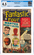 Silver Age (1956-1969):Superhero, Fantastic Four #7 (Marvel, 1962) CGC VG+ 4.5 Off-white pages....