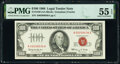 Small Size:Legal Tender Notes, Fr. 1550 $100 1966 Legal Tender Note. PMG About Uncirculat...