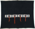 American Indian Art:Beadwork and Quillwork, A Sioux Beaded Hide / Cloth Blanket Strip ...