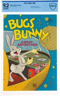 Four Color #88 Bugs Bunny (Dell, 1945) CBCS NM- 9.2 Off-white pages