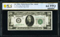Small Size:Federal Reserve Notes, Fr. 2051-F $20 1928A Federal Reserve Note. PCGS Banknote Choice Unc 64 PPQ.. ...