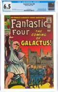Silver Age (1956-1969):Superhero, Fantastic Four #48 (Marvel, 1966) CGC FN+ 6.5 Cream to off-white pages....
