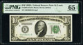 Small Size:Federal Reserve Notes, Fr. 2001-H $10 1928A Federal Reserve Note. PMG Gem Uncircu...
