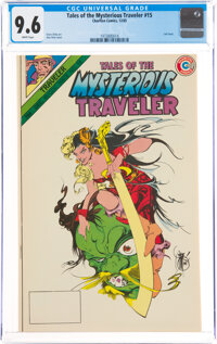 Tales of the Mysterious Traveler #15 (Charlton, 1985) CGC NM+ 9.6 White pages