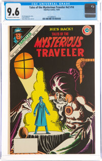 Tales of the Mysterious Traveler V2#14 (Charlton, 1985) CGC NM+ 9.6 Off-white to white pages