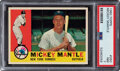 Baseball Cards:Singles (1960-1969), 1960 Topps Mickey Mantle #350 PSA NM 7. Offered is...