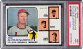 Baseball Cards:Singles (1970-Now), 1973 Topps Cardinals Manager/Coaches (Orange Background) #...