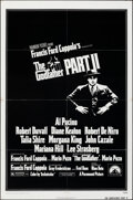"""Movie Posters:Crime, The Godfather Part II (Paramount, 1974). Folded, Fine/Very Fine. One Sheet (27"""" X 41""""). Crime.. ..."""
