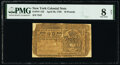 Colonial Notes:New York, New York April 20, 1756 £10 PMG Very Good 8 Net.. ...