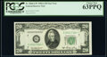 Small Size:Federal Reserve Notes, Fr. 2060-G* $20 1950A Federal Reserve Star Note. PCGS Choice New 63PPQ.. ...