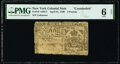 Colonial Notes:New York, New York April 21, 1760 £2 Contemporary Counterfeit PMG Good 6 Net.. ...