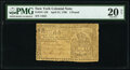 Colonial Notes:New York, New York April 21, 1760 £2 PMG Very Fine 20 Net.. ...