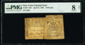 Colonial Notes:New York, New York April 21, 1760 £10 PMG Very Good 8 Net.. ...
