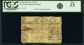 Colonial Notes:New York, New York February 16, 1771 5s PCGS Fine 15.. ...