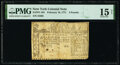 Colonial Notes:New York, New York February 16, 1771 £2 PMG Choice Fine 15 Net.. ...