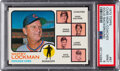 Baseball Cards:Singles (1970-Now), 1973 Topps Cubs Manager/Coaches (Solid Background) #81 PSA...