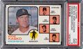 Baseball Cards:Singles (1970-Now), 1973 Topps Red Sox Manager/Coaches (Orange Background) #13...