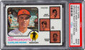 Baseball Cards:Singles (1970-Now), 1973 Topps Indians Manager/Coaches (Spahn's Right Ear Roun...