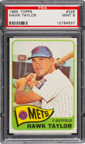 Baseball Cards:Singles (1960-1969), 1965 Topps Hawk Taylor #329 PSA Mint 9 - Only One Higher!