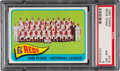 Baseball Cards:Singles (1960-1969), 1965 Topps Reds Team #316 PSA NM-MT 8. Our offere...