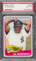 Baseball Cards:Singles (1960-1969), 1965 Topps Al Downing #598 PSA Mint 9 - Only One Higher!...