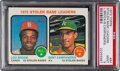 Baseball Cards:Singles (1970-Now), 1973 Topps Stolen Base Leaders #64 PSA Mint 9 - Only One H...
