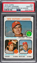 Baseball Cards:Singles (1970-Now), 1973 Topps Victory Leaders #66 PSA Gem Mint 10....