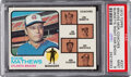Baseball Cards:Singles (1970-Now), 1973 Topps Braves Manager/Coaches (Burdette Right Ear Show...