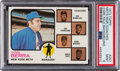 Baseball Cards:Singles (1970-Now), 1973 Topps Mets Manager/Coaches (Dark Pale Background) #25...