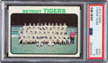 Baseball Cards:Singles (1970-Now), 1973 Topps Tigers Team #191 PSA Mint 9 - None Higher!