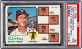 Baseball Cards:Singles (1970-Now), 1973 Topps Tigers Manager/Coaches #323 PSA Mint 9 - None H...