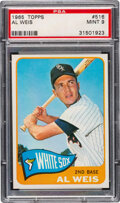 Baseball Cards:Singles (1960-1969), 1965 Topps Al Weis #516 PSA Mint 9 - Only Two Higher!