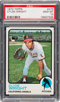Baseball Cards:Singles (1970-Now), 1973 Topps Clyde Wright #373 PSA Gem Mint 10 - Pop Two!