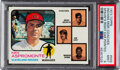 Baseball Cards:Singles (1970-Now), 1973 Topps Indians Manager/Coaches (Spahn's Ear Pointed) #...