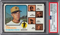 Baseball Cards:Singles (1970-Now), 1973 Topps Pirates Manager/Coaches (Mazeroski Right Ear Showing) #517 PSA Gem Mint 10 - Pop Two! ...