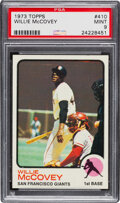Baseball Cards:Singles (1970-Now), 1973 Topps Willie McCovey #410 PSA Mint 9 - Three Higher.